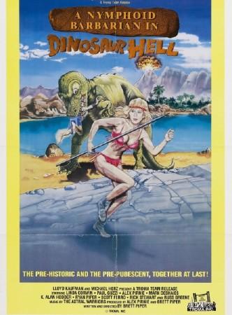 Дикарка-нимфоманка в аду у динозавров (1990) DVDRip